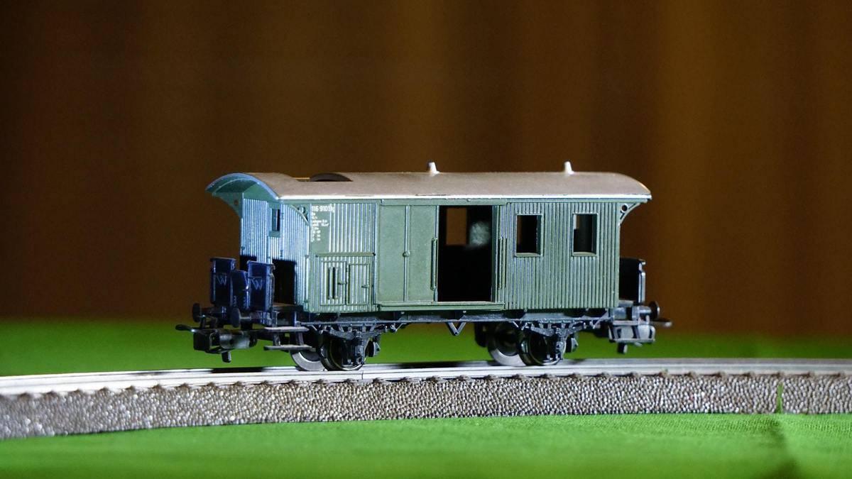 a model train